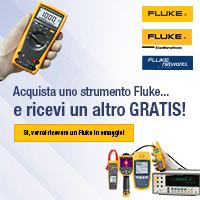 Acquista uno strumento Fluke e ricevi un altro gratis!