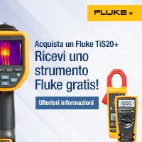 Acquista una termocamera Fluke e ricevi uno strumento gratis!